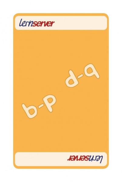 Memo-Match:Auslautableitung b-p, mittel