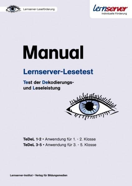 Manual Lernserver-Lesetest