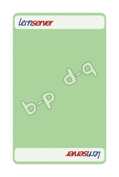 Memo-Match:Auslautableitung b-p, leicht