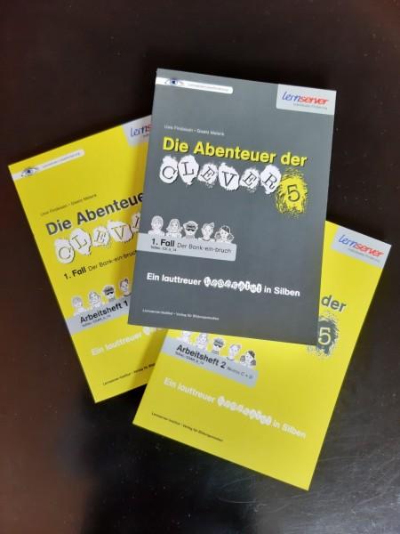 Lesekrimi und zwei Arbeitshefte: Günstiges Paketangebot
