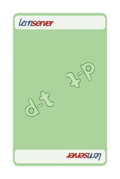 Memo-Match:Auslautableitung d-t, leicht